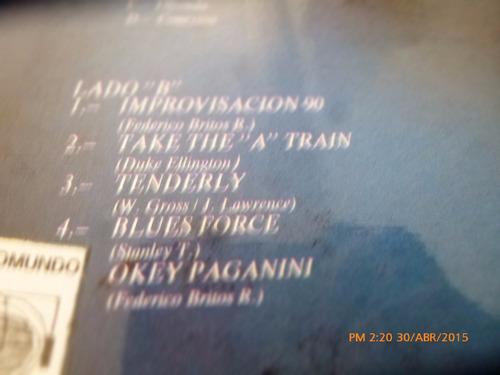vinilo lp conexion jazz -federico britos ruiz(566