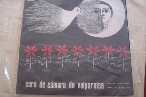 vinilo lp coro de camara valparaiso u de chile