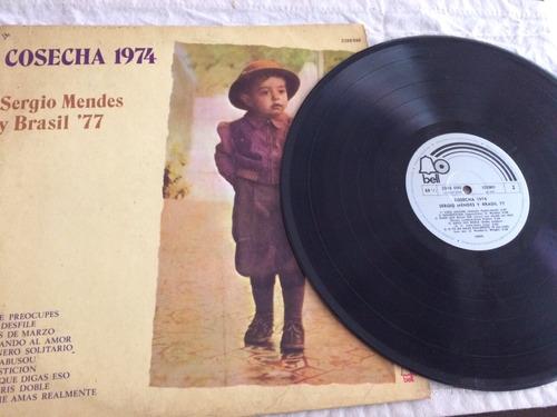 vinilo lp - cosecha 1974 sergio mendes y brasil 77