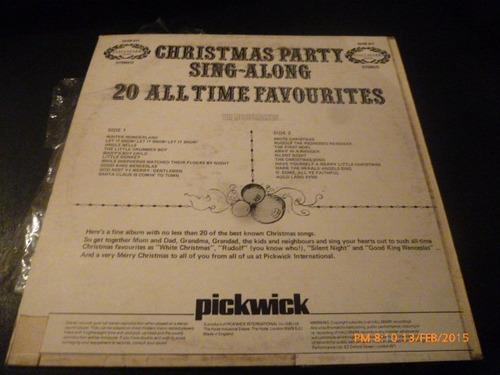 vinilo lp de 20 christmas party sing along (u999