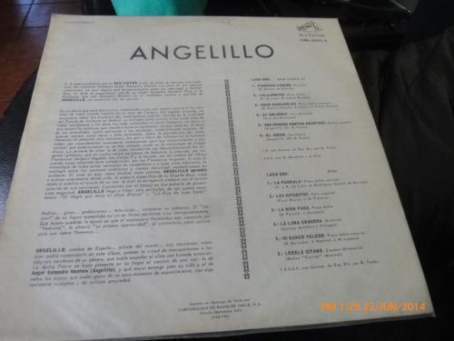 vinilo lp de angelillo --la bien paga (u856