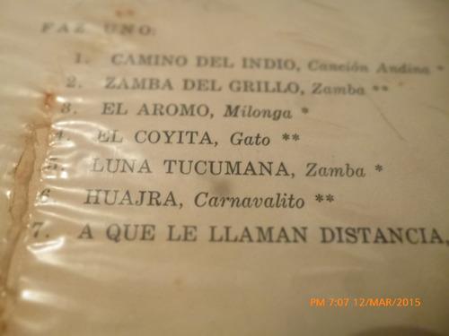 vinilo lp de atahualpa yupanqui -canto y guitarra(u1237