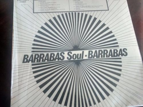 vinilo lp de barrabas -todos la rock and roll  (498