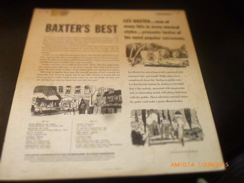 vinilo lp de baxters best -- the star line (899