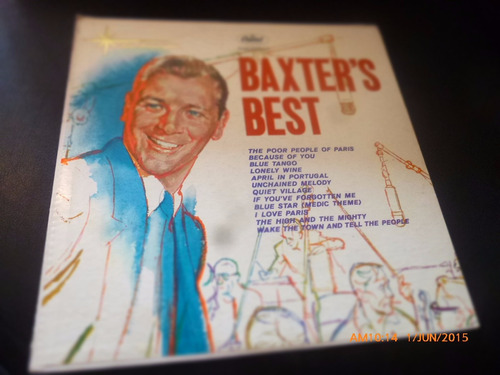 vinilo lp de baxters best -- the star line (u782