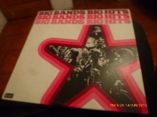 vinilo lp de big bands big hits   (608