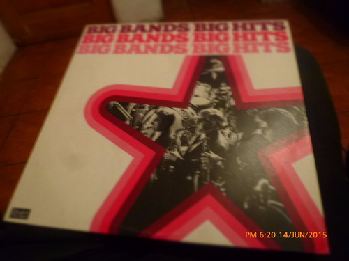 vinilo lp de big bands big hits   (u537