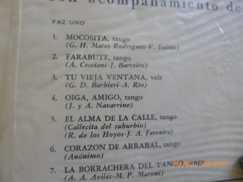 vinilo  lp  de carlos gardel mi mocosita  (74)