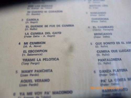vinilo lp de carola y sus 33 cumbias  -- (1427