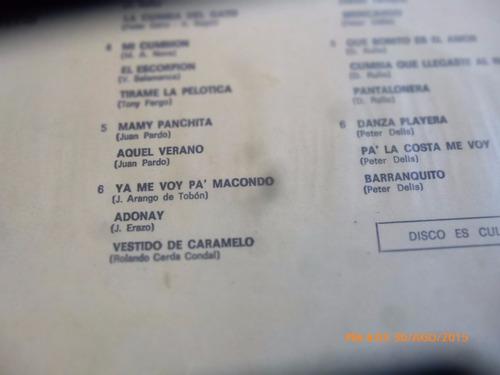 vinilo lp de carola y sus 33 cumbias  -- (u1275