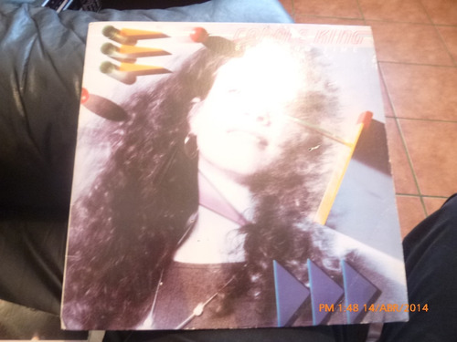 vinilo lp de carole king -- speeding time (u814