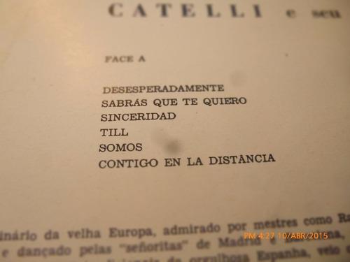 vinilo lp  de catelli  --pecado bolero (1335)