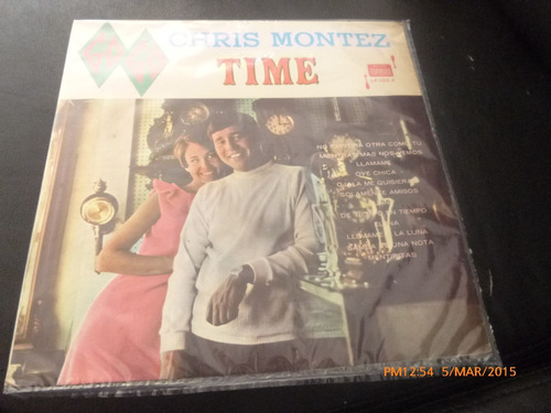 vinilo lp  de chris montez  -- go go -time -- (u1031