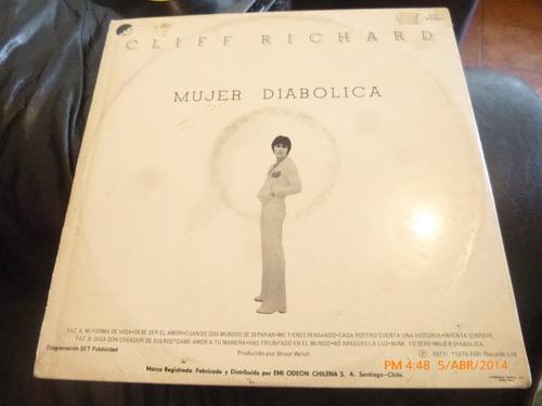 vinilo lp de cliff richard - mujer diabolica (933