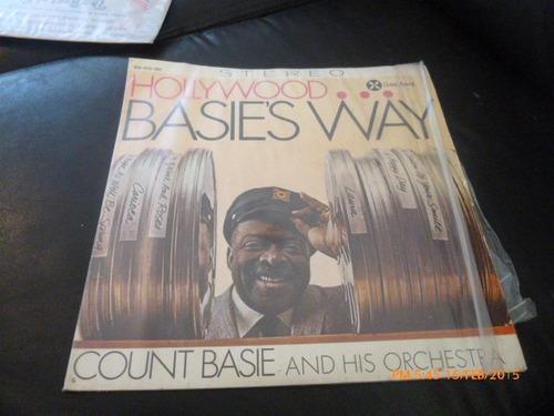 vinilo lp de count basies way -- hollywood(u881