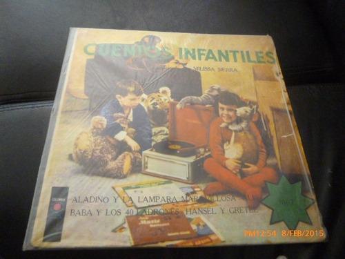 vinilo lp de cuentos infantiles -aladino -hansel y (1150