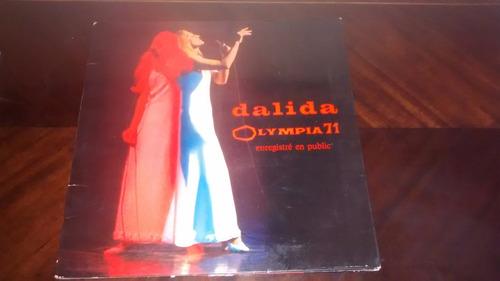 vinilo lp de dalila en el olympia 1971 (1451
