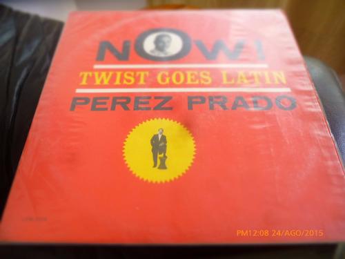 vinilo lp de damaso perez prado -  now twist go (u1056