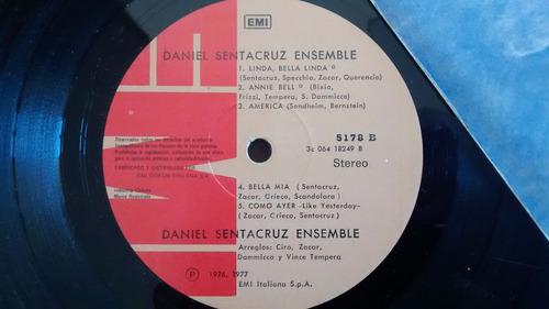 vinilo lp de daniel sentacruz -ensemble(u1294