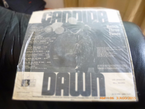 vinilo lp  de dawn - candida  (u1015