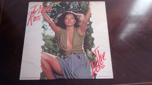 vinilo lp de diana ross - the boss  (u1313