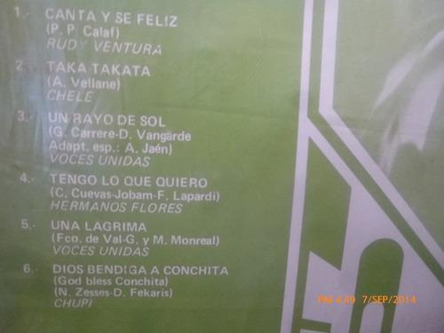vinilo lp de discotheque en español-- (u61