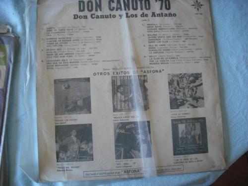 vinilo lp de don canuto     70 (u533