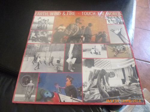 vinilo lp de earth wind & fire - touch the world  (863