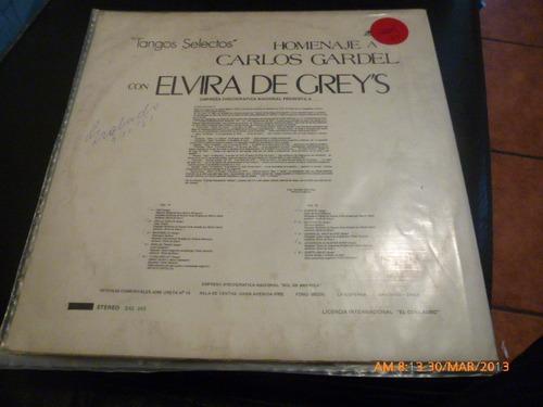 vinilo lp de elvira de greys tangos (u59