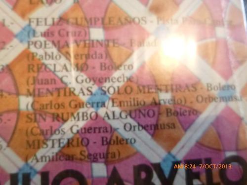 vinilo lp de emilio arvelo - feliz cumpleaños (574