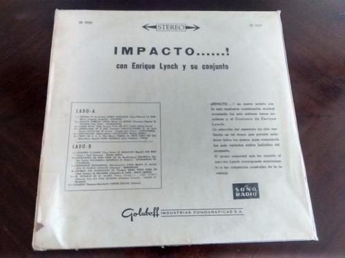 vinilo lp de enrique lynch impacto  ( u915