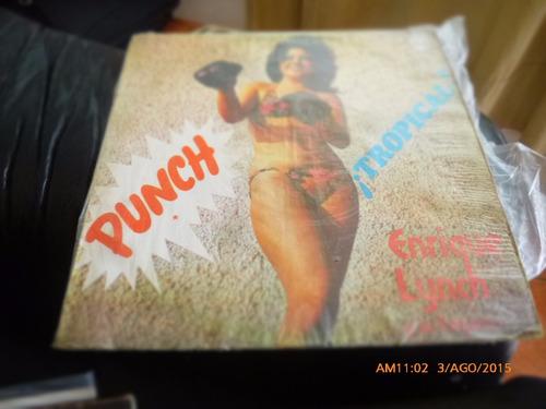 vinilo lp  de enrique lynch -- punch tropical  (1388
