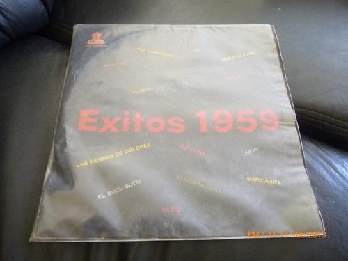 vinilo lp de exitos de 1959 daniel morgan y su conjunto (384