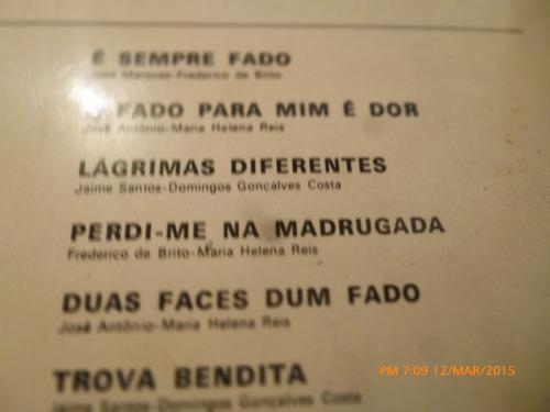 vinilo lp de  fernanda maria -- fados  (u1156