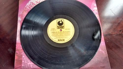 vinilo lp de francis lai  --the man and his music  (u1315