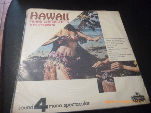 vinilo lp de frank chacksfield  hawaii  (u832