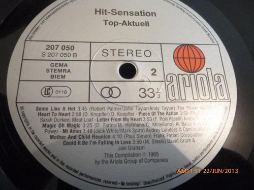 vinilo lp  de  git sensation  top -aktuell (533)