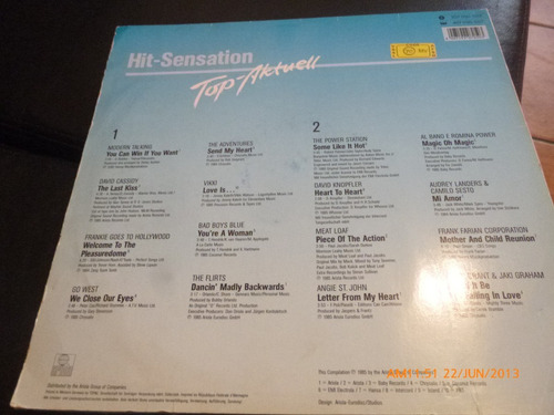 vinilo lp  de  git sensation  top -aktuell (u424