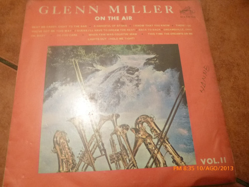 vinilo lp de glenn  miller  on the air (u1215