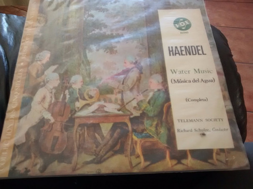 vinilo lp de haendel  water music   (u1302