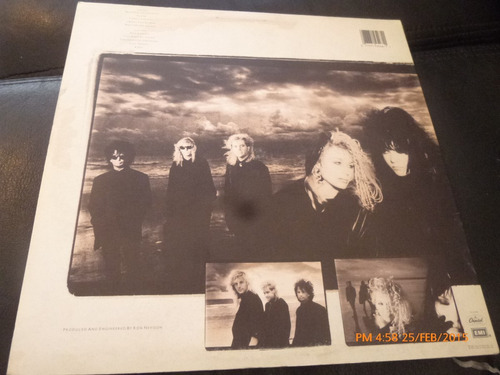vinilo lp  de heart  --alone (1174