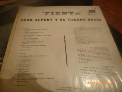 vinilo lp de herb alpert -- y su tijuana brass (u929