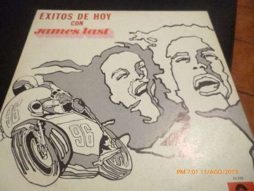 vinilo lp de  james last  exitos de hoy (576)