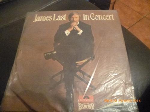 vinilo lp de james last in concert (1068