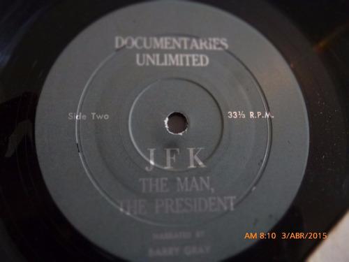 vinilo lp de john kennedy  mayo 29-1917-nov -22-1963 (1111