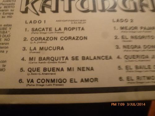 vinilo lp de katunga - el ritmo (u67