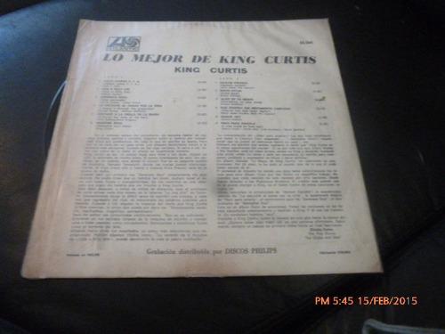 vinilo lp de king curtis -- the best( 1067