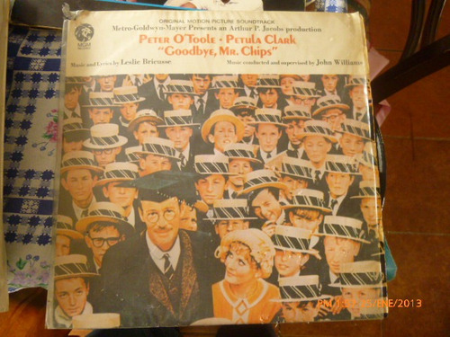 vinilo lp  de la pelicula goodbye mr chips(762