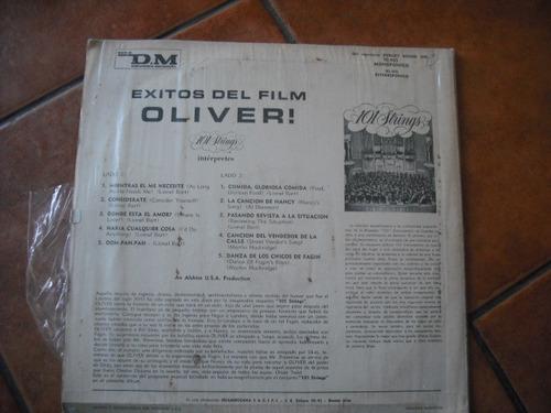 vinilo lp de la pelicula oliver  (u659