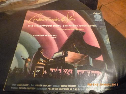 vinilo lp  de leonard pennario  -- concierto de star (260